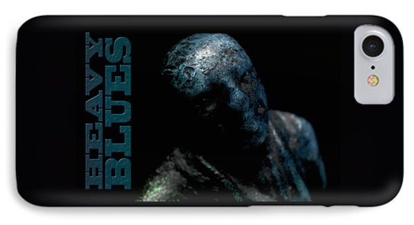 IPhone Case featuring the photograph Heavy Blues by WB Johnston
