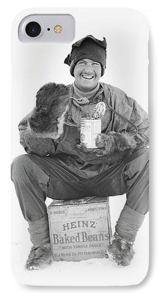Heinz Baked Beans In Antarctica IPhone Case by Scott Polar Research Institute