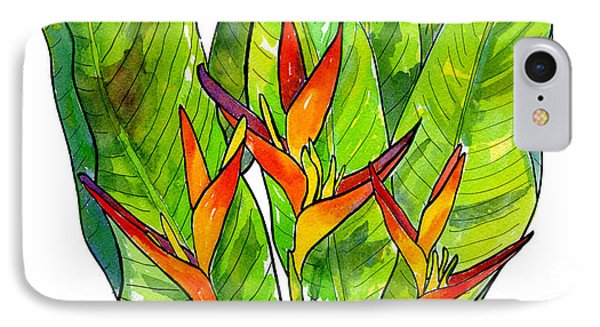 Heliconia IPhone 7 Case