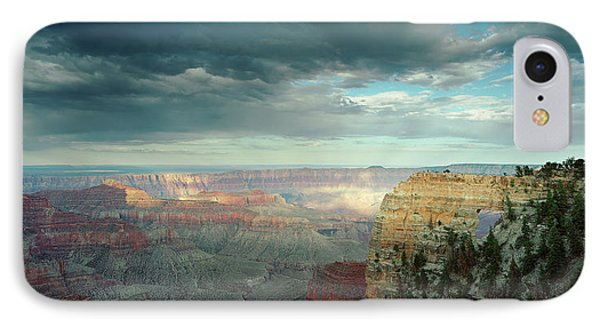High Angle View Of A Canyon, Angels IPhone Case by Panoramic Images