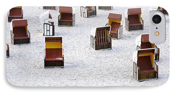 High Angle View Of Beach Baskets On The IPhone Case by Panoramic Images