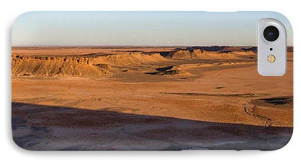 High Angle View Of Sahara Desert IPhone Case