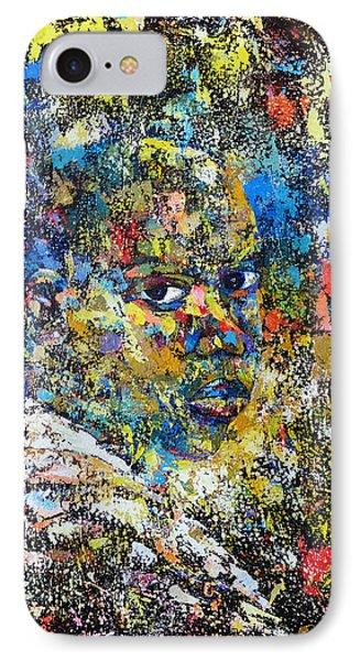 His Potrait IPhone Case by Ronex Ahimbisibwe