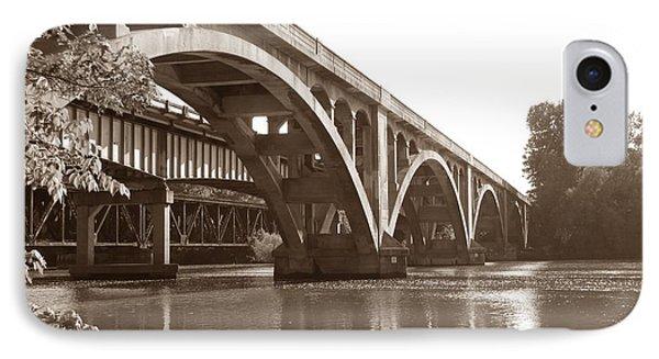 Historic Wil-cox Bridge Phone Case by Matt Taylor