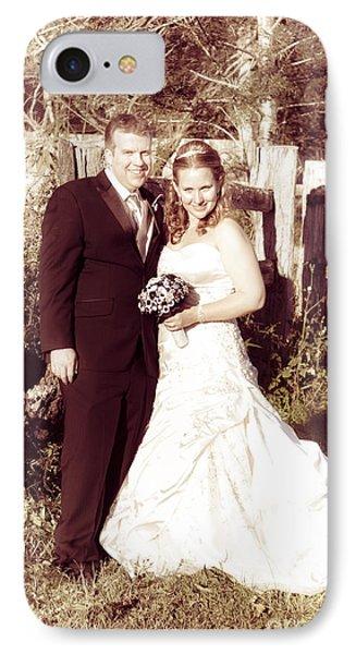 Historical Australian Wedding Couple IPhone Case by Jorgo Photography - Wall Art Gallery