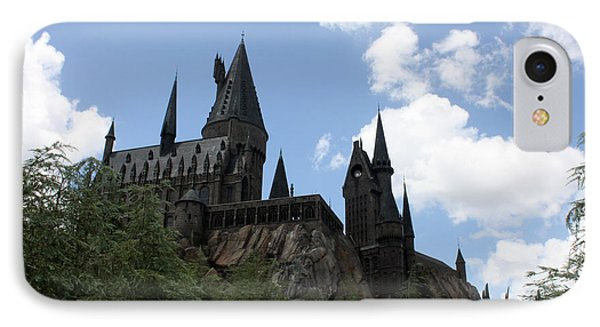 Hogwarts Castle IPhone Case by David Nicholls