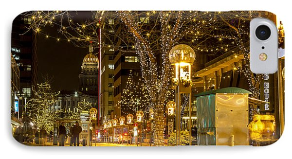 Holiday Lights In Denver Colorado IPhone Case