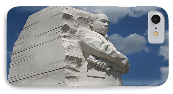 IPhone Case featuring the photograph Honoring Martin Luther King by Cora Wandel