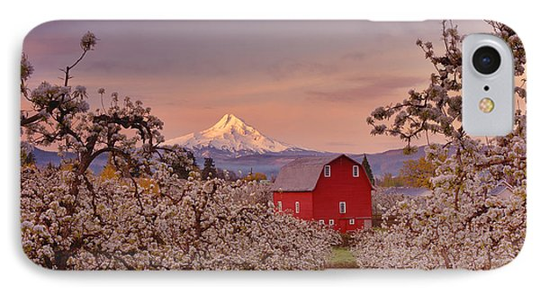 Hood River Sunrise IPhone Case