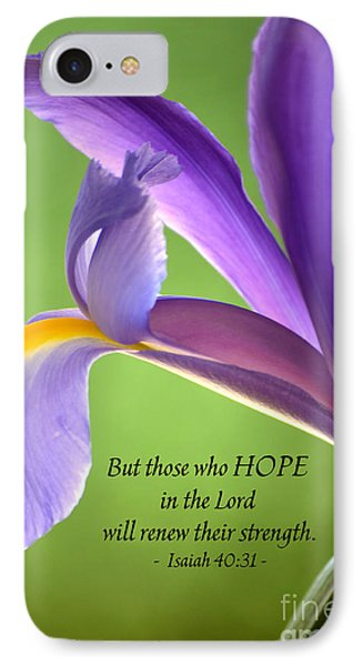 Hope IPhone Case by Deb Halloran