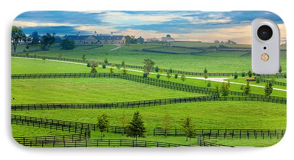 Horse Country IPhone Case by Alexey Stiop