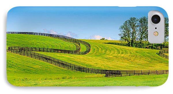 Horse Farm Fences IPhone Case by Alexey Stiop