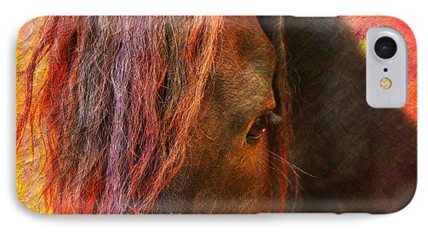Horse  IPhone Case by Mark Ashkenazi
