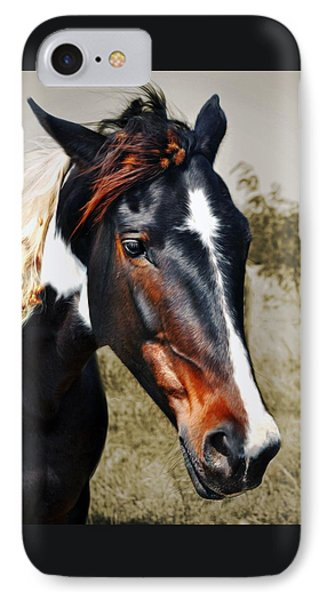 IPhone Case featuring the photograph Horse by Savannah Gibbs