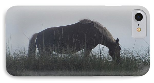 Horses Of Corolla 5 Phone Case by Cathy Lindsey