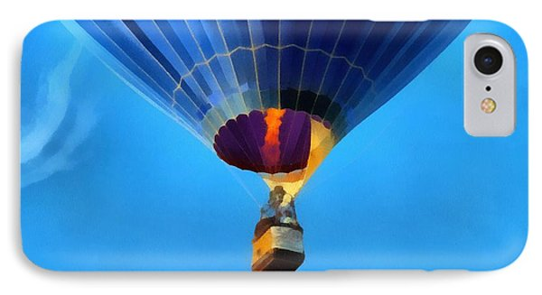 Hot Air Balloon Taking Off IPhone Case by Dan Sproul