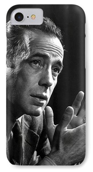 Humphrey Bogart Portrait 2 Karsh Photo Circa 1954-2014 IPhone Case by David Lee Guss