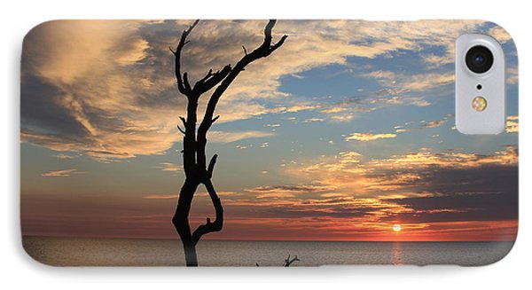 Hunting Island Sunrise IPhone Case by Mountains to the Sea Photo
