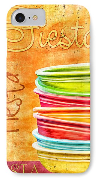 I Love Fiestaware IPhone Case by Brenda Bryant