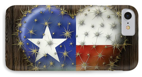 I Love Texas IPhone Case