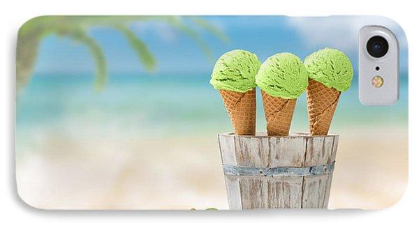 Kiwi iPhone 7 Case - Ice Creams  by Amanda Elwell