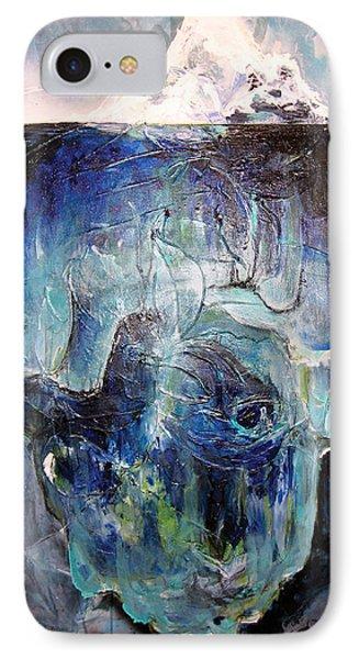 Iceberg Phone Case by Tanya Kimberly Orme