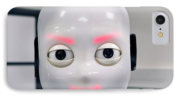 Icub Robot IPhone Case by Philippe Psaila