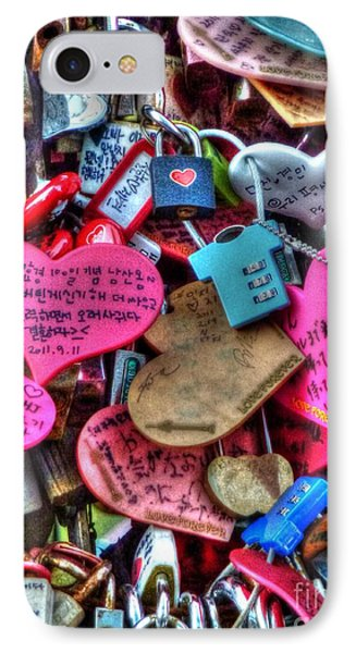If You Love It Lock It  Phone Case by Michael Garyet