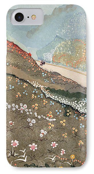 Illustration For Kim By Rudyard Kipling IPhone Case by Francois-Louis Schmied