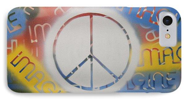 Imagine Peace Phone Case by Drew Shourd