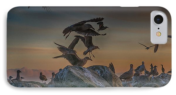 In Flight IPhone Case by Bill Roberts