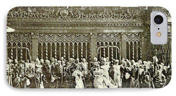 Inauguration Of Queen Wilhelmina In The Nieuwe Kerk IPhone Case