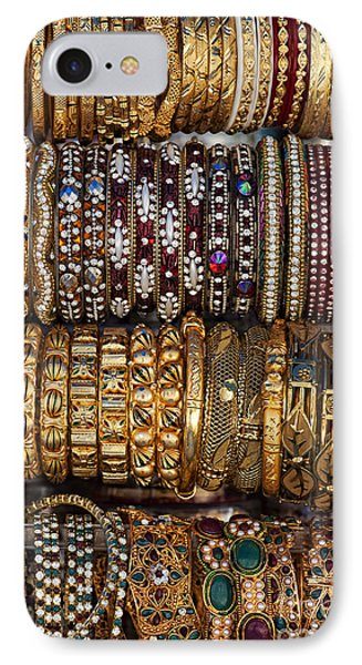 Indian Bangles IPhone Case by Tim Gainey