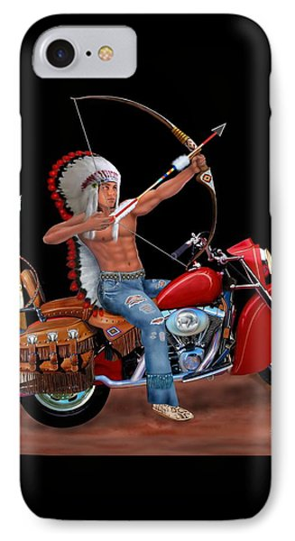 Indian Forever IPhone Case by Glenn Holbrook