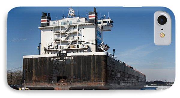 Indiana Harbor 4 IPhone Case by Susan  McMenamin