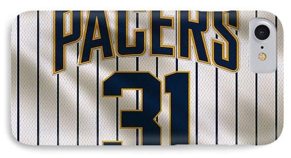 Indiana Pacers Uniform IPhone Case by Joe Hamilton