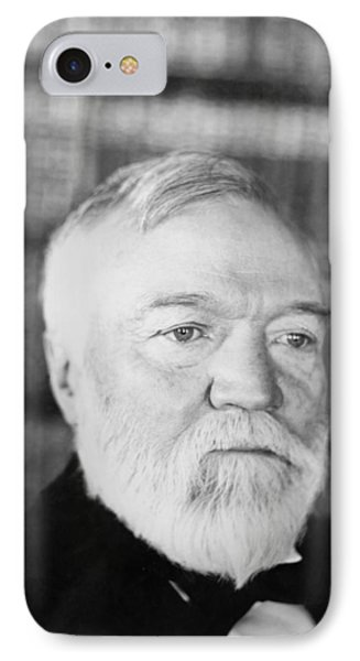 Industrialist Andrew Carnegie IPhone Case by Underwood Archives