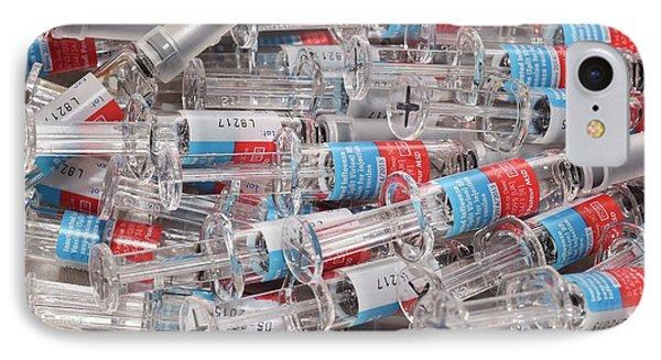 Influenza Vaccines IPhone Case by Dr P. Marazzi