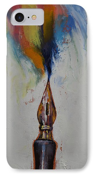 Ink IPhone Case by Michael Creese
