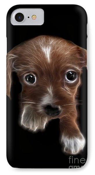 Innocent Loving Eyes IPhone Case by Peter Piatt