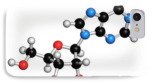 Inosine Nucleoside Molecule IPhone Case