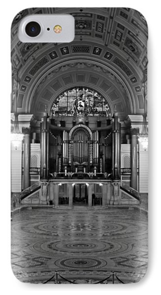 Interior Of St Georges Hall Liverpool Uk Grade 1 Listed Build Phone Case by Ken Biggs