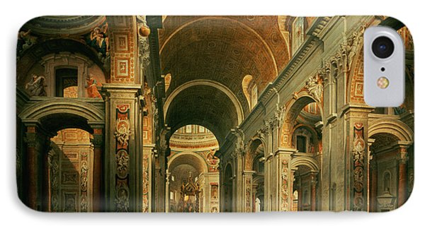 Interior Of St Peters In Rome IPhone Case