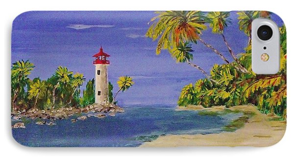 Into The Tropics IPhone Case by Mike Caitham
