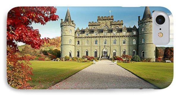 Inveraray Castle IPhone Case by Grant Glendinning
