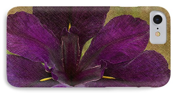 Iris IPhone Case by Carrie Cranwill