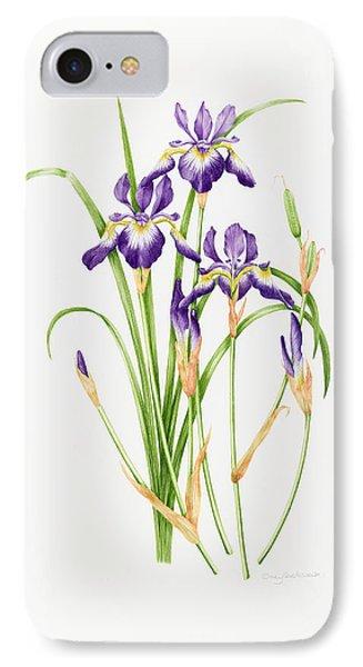 Iris Sibirica IPhone Case