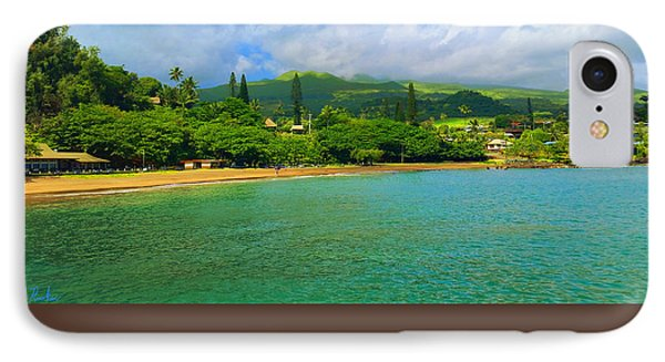 IPhone Case featuring the painting Island Of Maui by Michael Rucker