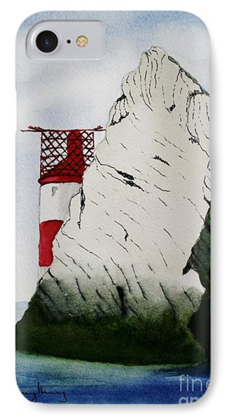 Isle Of Wight Lighthouse IPhone Case