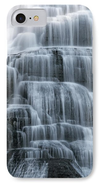 Ithaca Water Falls New York Panoramic Photography Phone Case by Paul Ge